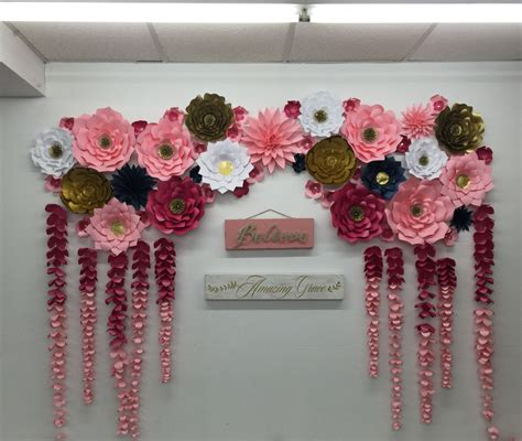 Wedding Arch Photo Booth by Large Paper Flowers Backdrop Wedding Arch Photo Booth Flower
