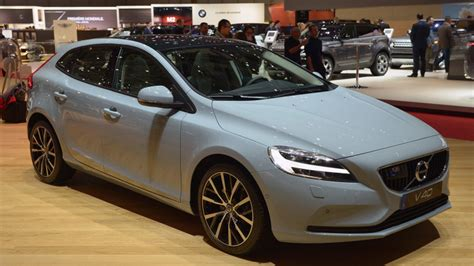 2017 volvo v40 hatches a fresher take on the small wagon