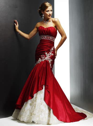 red  white prom dresses latest fashion club