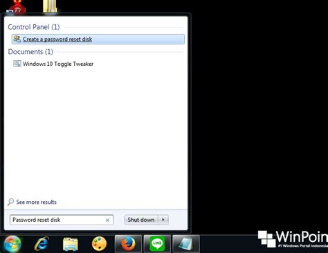 reset password windows 7 reset disk cara membuat password reset disk di windows 7 winpoin
