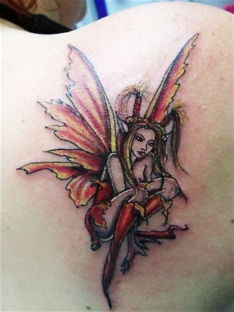 dark fairy tattoo designs best tribal gallery tattoogothic moonlight