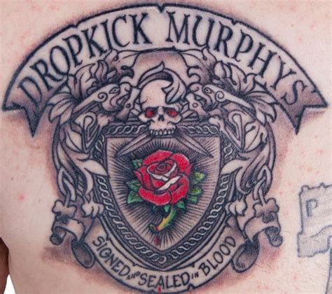rose tattoo dropkick murphys dropkick murphys cancel a show after a fatal