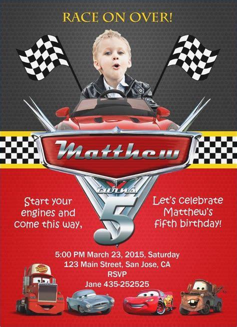 cars printable invitation cards best 25 cars birthday invitations ideas pinterest cars