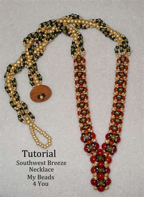 jewelry pdf pdf beading tutorial beaded necklace tutorial pdf