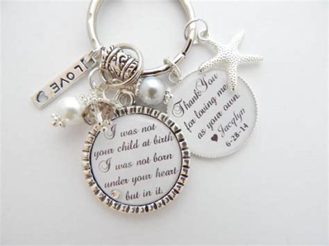 keyring photo personalized gifts photo gifts ideas wedding gifts ideas baby gifts step mother gift step mom charm necklace personalized