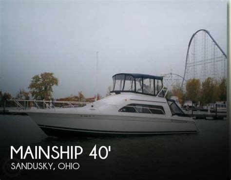 jet boat for sale sandusky ohio for sale used 1998 mainship 40 sedan bridge in sandusky