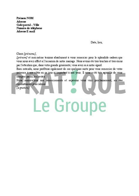 Lettre De Résiliation Kiosque à Idées Mod 232 Le De Lettre De Remerciement Mariage Covering Letter Exle