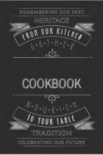 printable cookbook template new cookbook covers are here heritage cookbook