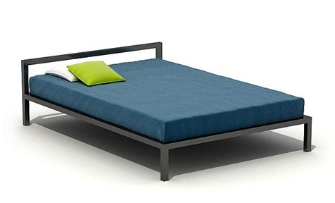 simple beds simple bed 3d model cgtrader com