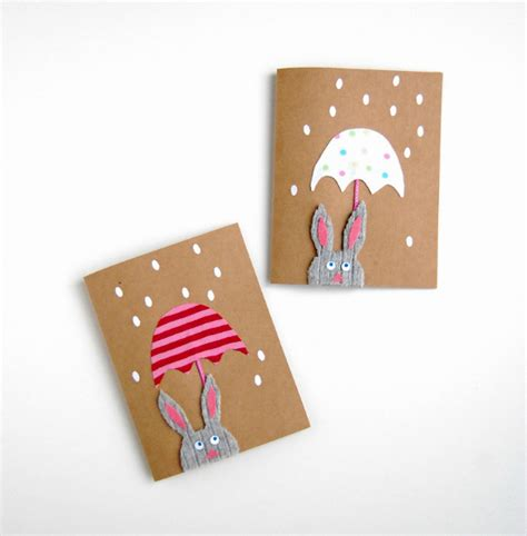 Handcrafted Greeting Card Ideas - 10 sweet handmade greeting card ideas for easter
