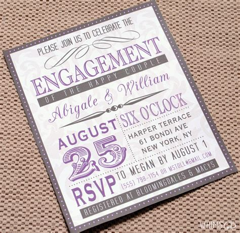 Engagement Invitation by Engagement Invitations Engagement Invitation