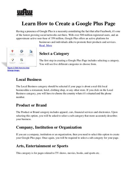 design google plus page how to create a google plus page
