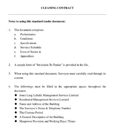 16 business contract templates free sle exle