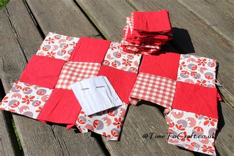 Patchwork Crafts - simple patchwork crafts