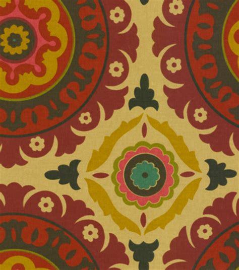 joann home decor fabric home decor print fabric waverly solar flair henna jo ann