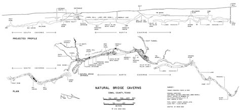 caverns in texas map bridge caverns texas speleological survey tss cave records publications