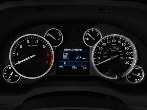 how make cars 2011 toyota tundra instrument cluster image 2016 toyota tundra crewmax 5 7l v8 6 spd at trd pro natl instrument cluster size 1024