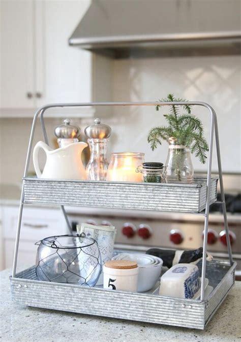 metal kitchen countertop rack  planters