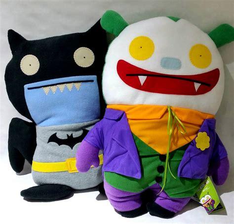 Uglydoll Jiker sdcc 2014 uglydoll x dc comics 22 inch batman and joker exclusives still available