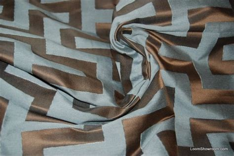 Design Bauhaus 4346 by Ch435 Clarence House Silk Key Italy Jacquard