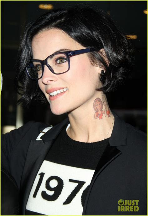 jaimie alexander tattoo jaimie only covers 8 of 9 tattoos for