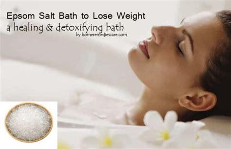 Epsom Salt Bath Without Bathtub by Amazing Epsom Salt Bath To Lose Weight How To Take One
