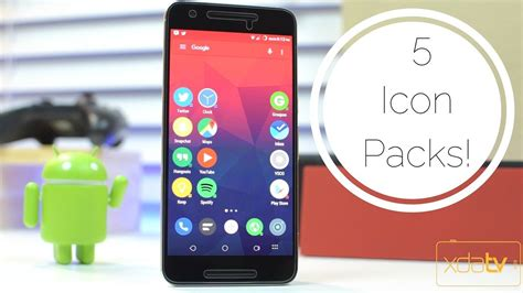 best android icon pack top 5 icon packs for android
