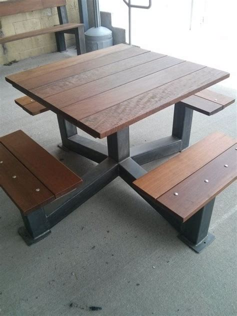 outdoor picnic table best 25 outdoor picnic tables ideas on