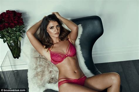 Lucy Mecklenburgh in sexy lingerie for Boux Avenue SS17