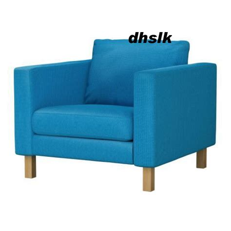 ikea karlstad armchair cover ikea karlstad armchair slipcover chair cover korndal blue