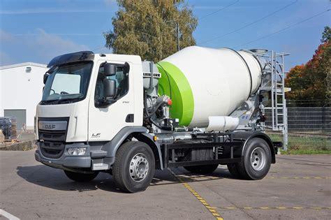 htm  truck mixer liebherr