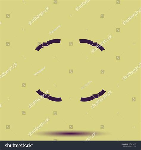 Set Ribon set ribbon icons stock vector 563479057
