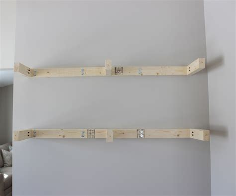 it s a grandville diy floating shelves