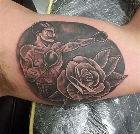 masculine rose tattoo 100 inner bicep designs for manly ink ideas