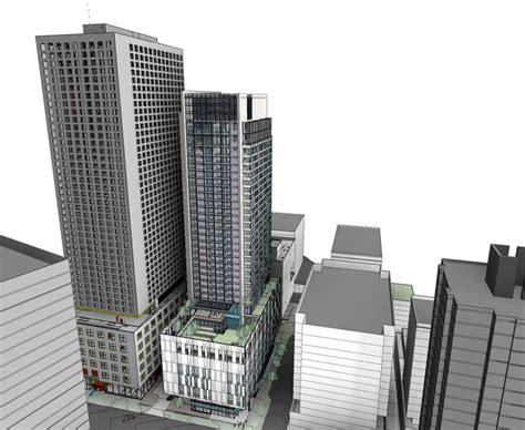 seattle design review calendar r c hedreen s 824 howell 475 room hotel project hits snag
