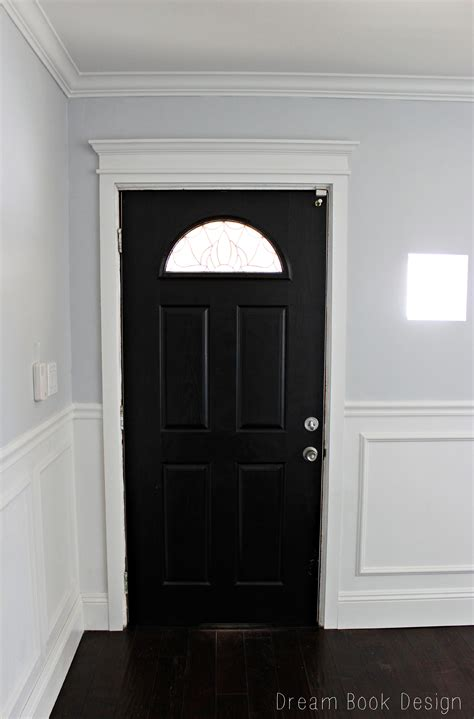 Gloss Interior Doors by Our High Gloss Black Front Door Book Design