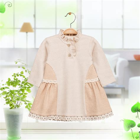 Baby Dress Cotton 1 newborn baby organic cotton 1 year birthday christening gown dresses infant toddler