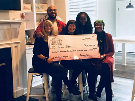 renaissance house music jfh news gospel hip hop label renaissance music gives 31k check to build safe