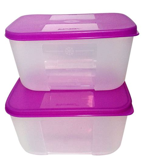 Tupperware Canister 2pcs tupperware freezer mate plastic containers small 2pcs buy at best price in india