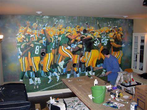 sport wall murals sports murals 2017 grasscloth wallpaper