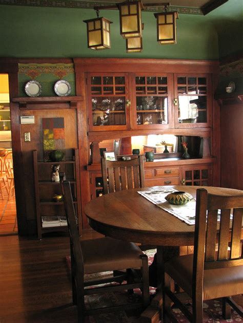 Arts And Crafts Dining Room Set 1000 Images About Quot Craftsman Homes Quot On Pinterest House Plans Craftsman Style House Plans And