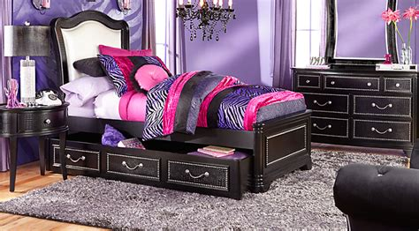 black bedroom furniture for girls girls full size bedroom sets with double beds