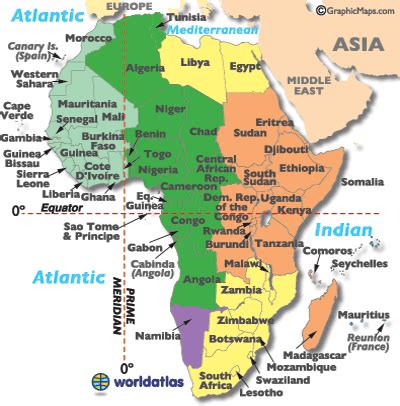 africa zone map map africa time zone