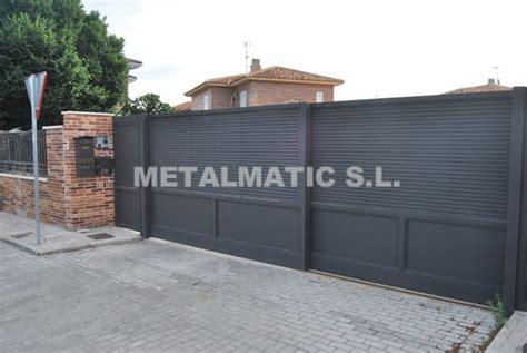 puertas correderas garaje precios metalmatic puertas de garaje correderas metalmatic