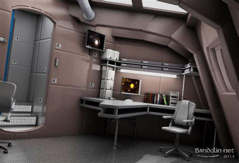 ready room captain s ready room by bandolin 3d studio max science fiction