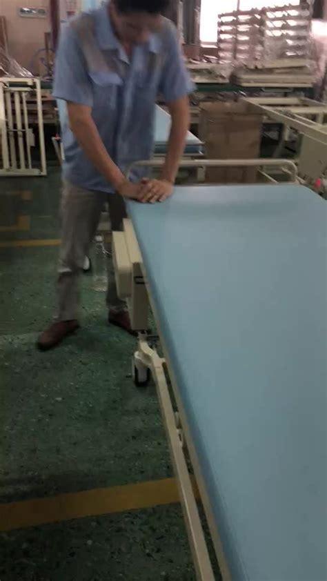 automatic sheet change hospital adjustable bed examination