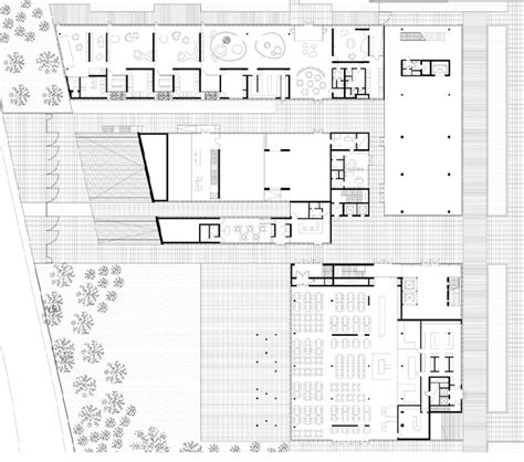 mixed use floor plans private and public mixed use building complex in bologna