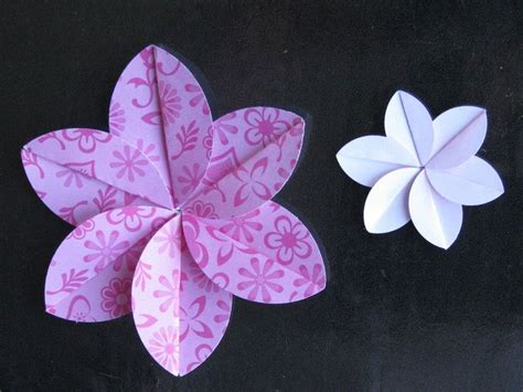 Plumeria Dollar Origami - 25 best ideas about easy origami flower on
