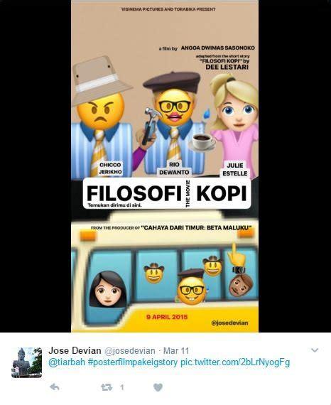 emoji nonton 15 poster film yang didesain ulang jadi imut pakai emoji