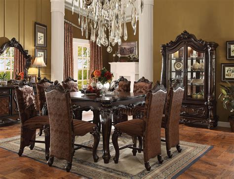 Versailles Dining Room Versailles Counter Height Dining Room Set Cherry 9pc Set Ebay